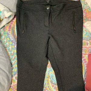Loft 16 Plus Jegging dress pants